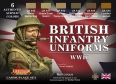 Diorama Set LifeColor CS41 - British Infantry Uniforms