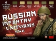 Diorama Set LifeColor CS42 - Russian Infantry Uniforms