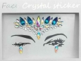 Face Crystal sticker Gem Jewelry LS1013