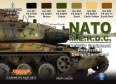 Camouflage Set LifeColor CS02 NATO M.E.R.D.C Mobility Equipment Research and Design Command