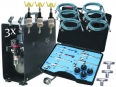 Powerfull Airbrush Set (6 persons / 6 pistols)