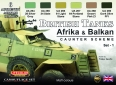 Set LifeColor CS43 British Tanks Afrika & Balkan
