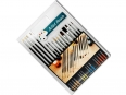 Set of 15 cheap brushes