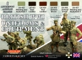 Set LifeColor CS45 British WWI Uniforms & Equipment