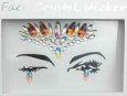 Face Crystal sticker Gem Jewelry LS1009