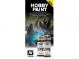 Vallejo CC063 Color Chart: Hobby Paint Spray