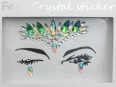 Face Crystal sticker Gem Jewelry LS1011