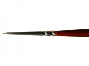Round Brush LifeColor Pure red sable 000
