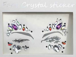 Face Crystal sticker Gem Jewelry LS1017