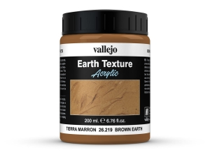Vallejo Diorama Effects 26219 Brown Earth (200ml)