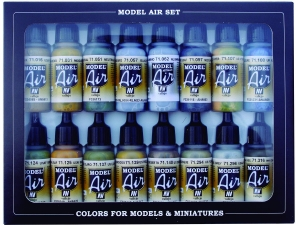 Vallejo Model Air Set 71185 WWII Usaf Aircraft (16)