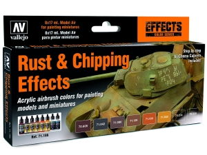 Vallejo Model Air Set 71186 Rust & Chipping Effects (8)