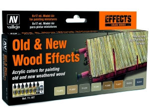 Vallejo Model Air Set 71187 Old And New Wood Effects (8) by Scratchmod