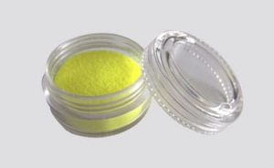 Glitter UV powder yellow 10 ml