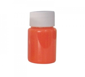 Airbrush Tattoo UV Fluorescent Ink Fengda orange 40 ml