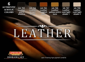 Diorama Set LifeColor CS30 LEATHER