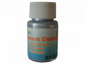 Airbrush Clothes Painting Fengda silver 40 ml