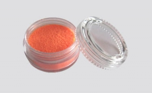 Glitter UV powder orange 10 ml