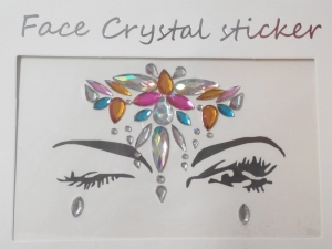 Face Crystal sticker Gem Jewelry LS1016