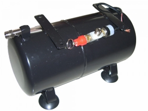 Compressors Spare Parts: Fully fitted Pressure tank for AS186, AS189