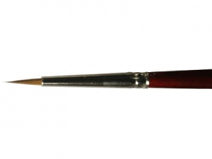Round Brush LifeColor Pure red sable 3