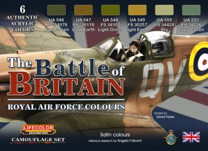 Diorama Set LifeColor CS35 The Battle of Britain
