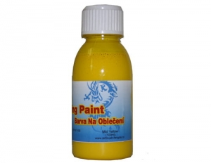 Airbrush Clothes Painting Fengda mid yellow 100 ml