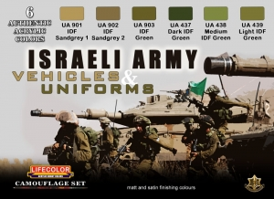 Diorama Set LifeColor CS32 ISRAELI ARMY