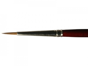 Round Brush LifeColor Pure red sable 2
