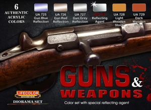 Camouflage Set LifeColor CS26 GUNS & WEAPONS